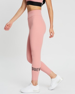 Doyoueven Stretch Lite Leggings - 7/8 Tights (Dusty Pink)