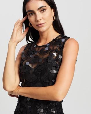 Romance by Honey and Beau Angel Maxi - Bridesmaid Dresses (Black)