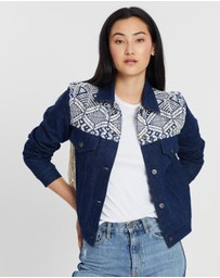 Levi's Made & Crafted - French Fringe Trucker Jacket