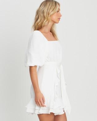 Tussah Tanika Mini Dress - Dresses (Ivory)