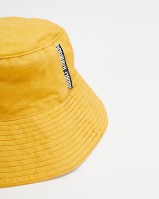 Double Rainbouu Flop Top Hat - Hats (Gold)