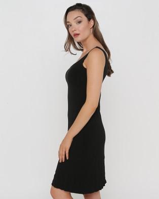 Faye Black Label The Essential Slip Dress - Dresses (Black)