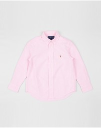 Polo Ralph Lauren - Solid Oxford Shirt - Kids