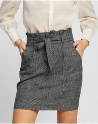 Vero Moda - Eva High-Waisted Paperbag Skirt