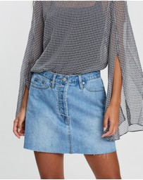 CAMILLA AND MARC - Beatrix High-Waisted Mini Skirt