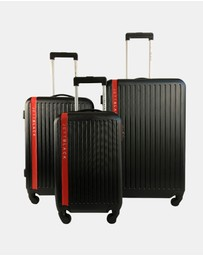 JETT BLACK - Jetsetter Series 3 Luggage Set