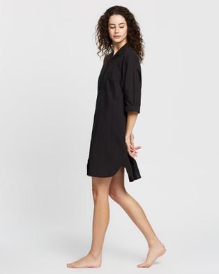 Papinelle Whale Beach Nightshirt - Sleepwear (Black)