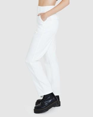 Neon Hart Strummer Utility Pants - Pants (WHITE)