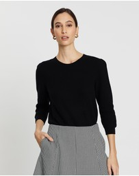 Marcs - Honeycomb Cotton Cashmere Knit