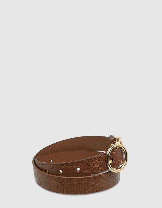 Women Mislaid Skinny Belt