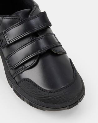 Harrison Dawson School Shoes - Flats (Black E+)