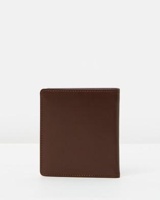 R.M.Williams Tri Fold Kangaroo Wallet - Wallets (Brown)