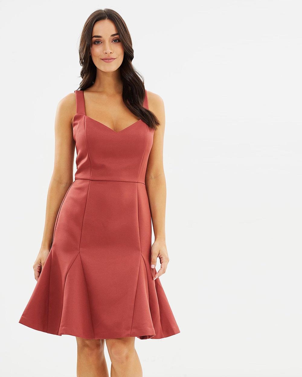 Cooper St Solstice Dress Dresses Red Solstice Dress