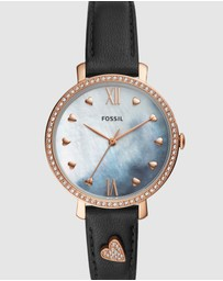 Fossil - Black Jacqueline Analogue Watch