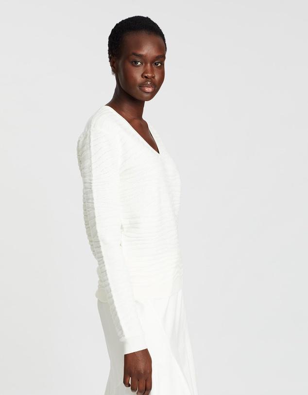 Women Zebra Plush Pullover