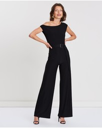 FRIEND of AUDREY - Amber One-Shoulder Jumpsuit
