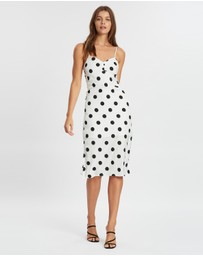 Atmos&Here - Ruched Bust Slip Dress