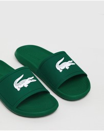 Lacoste - Croco Slides - Men's
