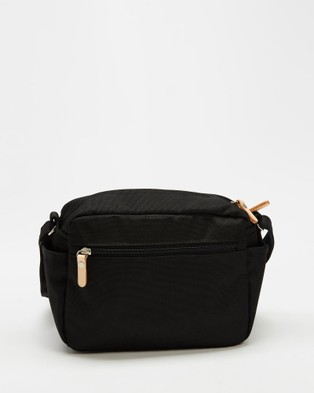 Harvest Label - Lycee Style Mini Shoulder Bag - Bags (Black) Lycee Style Mini Shoulder Bag