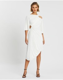 KITX - Cellular Drape Dress