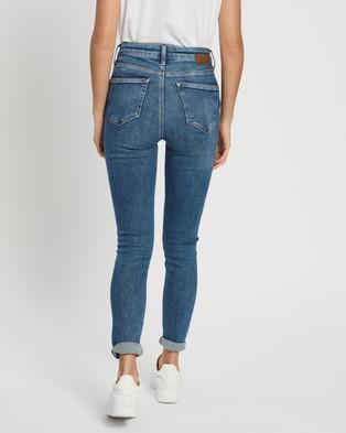 Mavi Scarlett Jeans - High-Waisted (Mid LA Vintage)