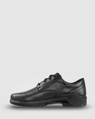 Ascent Scholar   2E Width - School Shoes (Black)