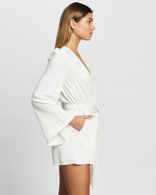 Atmos&Here Harmony Playsuit - Jumpsuits & Playsuits (White)