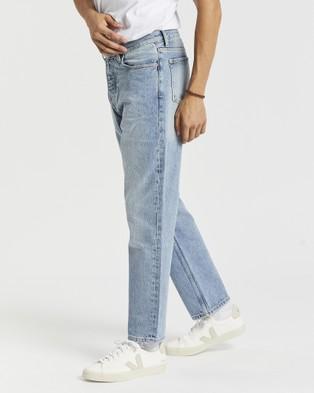 Dr Denim Dash Jeans - Crop (Stone Cast Blue)
