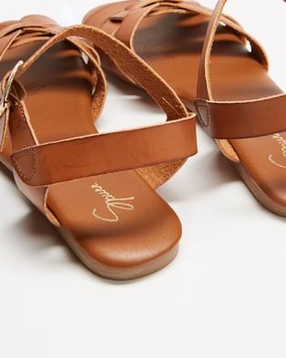 SPURR Tinah Sandals - Sandals (Tan Smooth)