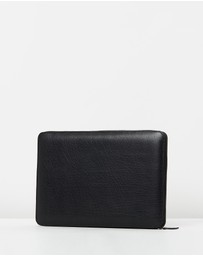 Loop Leather Co - Leather Zip Around Compendium