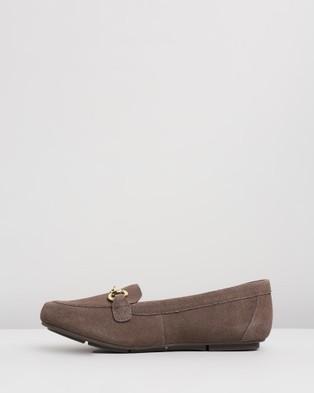 Vionic Bibiana Loafers - Flats (Greige)