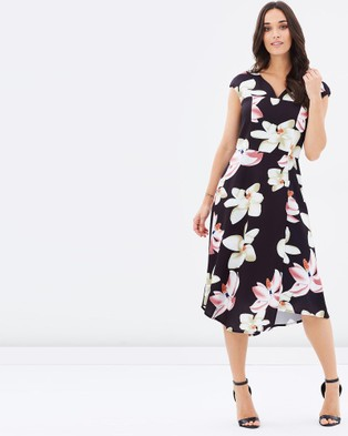 Pink Ruby – Flora Flair Dress Print