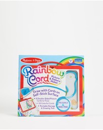 Melissa & Doug - Rainbow Cord Picture Pattern Maker