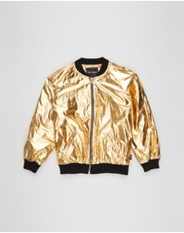 Rock Your Kid - Metallic Jacket - Kids-Teens