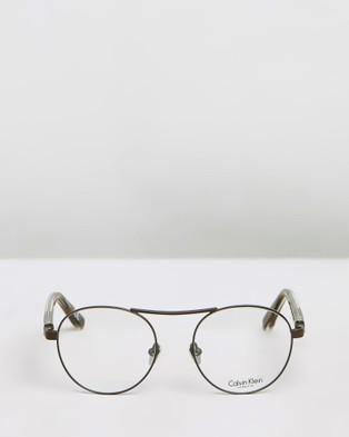 Calvin Klein CK8046 Glasses - Optical (Brown)