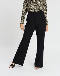 Banana Republic Petite - High-Rise Flare Pants