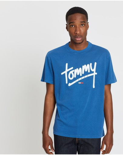 Tommy Jeans - TJM Handwriting Tee