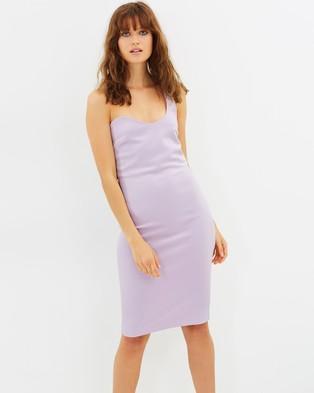 Maurie & Eve – Marseille Dress – Bodycon Dresses (Violet)