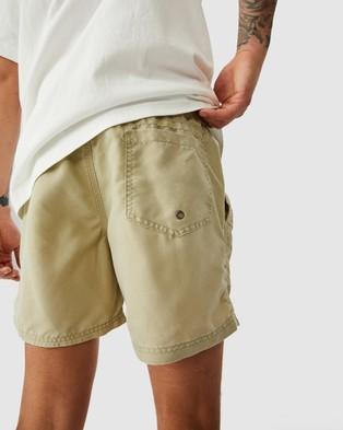 Cotton On - Kahuna Shorts Swimwear (Vintage Sage)