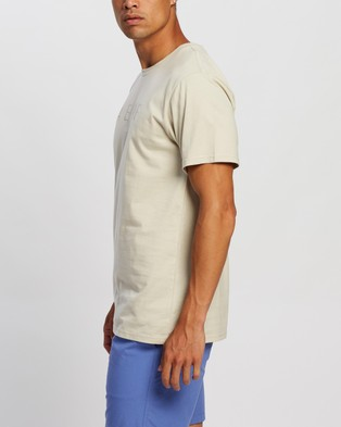 AERE Relaxed Organic Aere Tee - T-Shirts & Singlets (Sand)