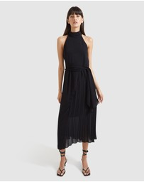 SABA - Willa Pleated Midi Dress