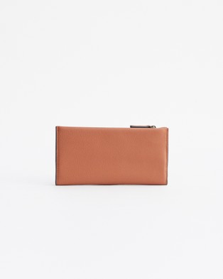 The Horse Commons Wallet - Wallets (Tan )