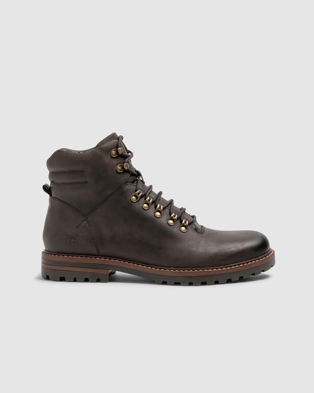 Rodd & Gunn Hampden Street Alpine Boot Dress Shoes Dark Chocolate
