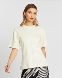 Joseph - Round Neck SS Top