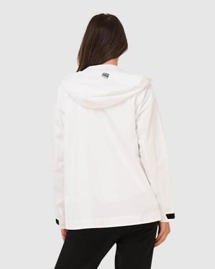 Superdry  Hydrotech Harpa Waterproof Jacket - Coats & Jackets (White)