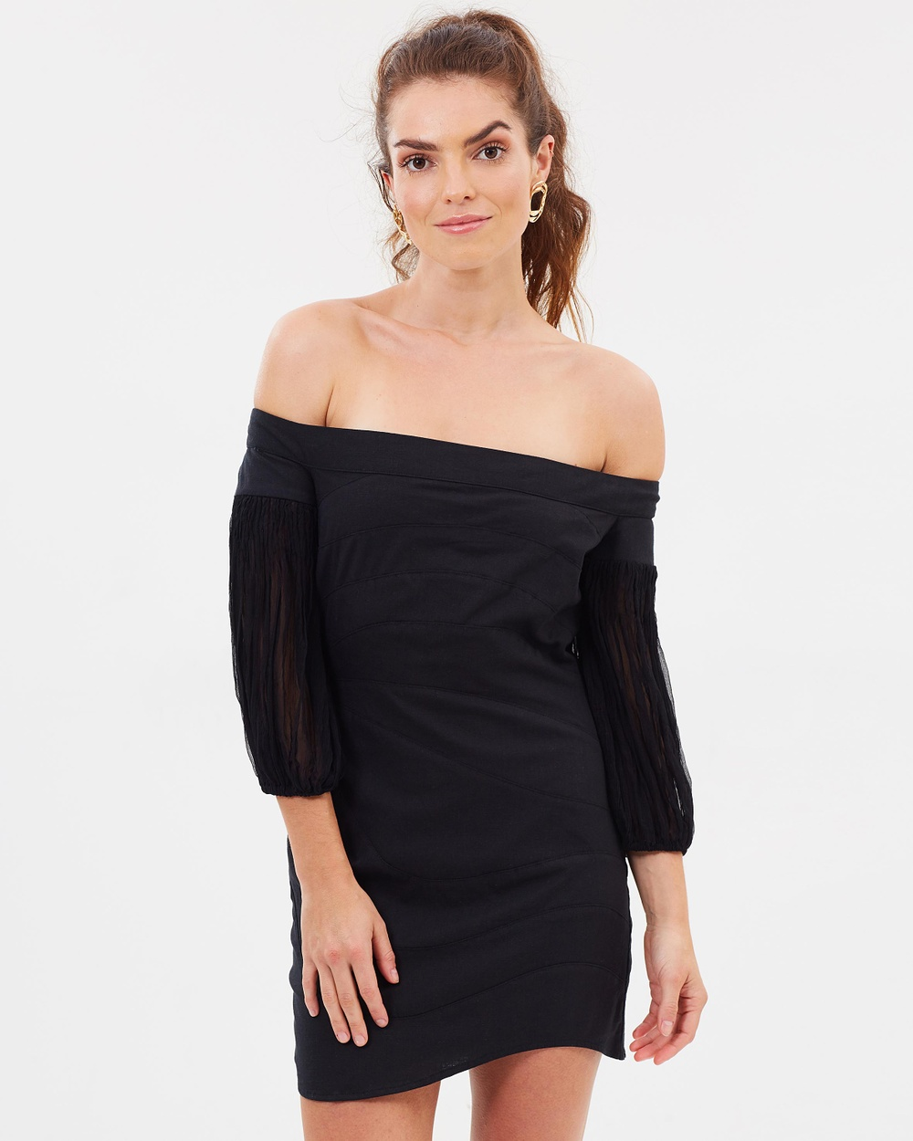 MLM Label Amore Dress Dresses Black Amore Dress
