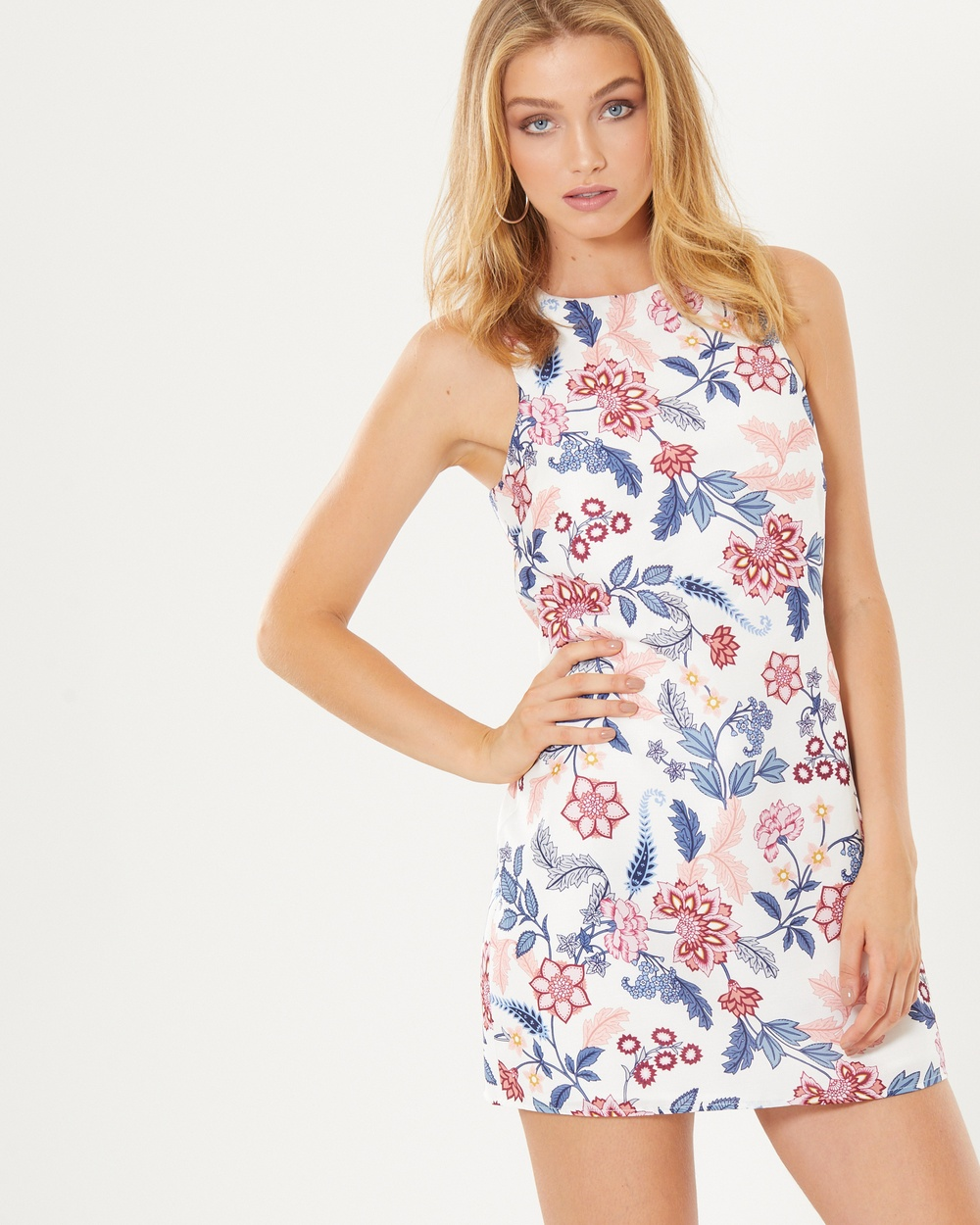 Photo of Tussah Multi Kiki Shift Mini Dress - beautiful dress from Tussah online