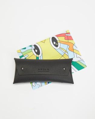 AKILA - Zed Sunglasses (Tokyo Tort, Yellow & Black)