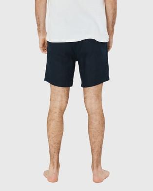 Coast Clothing Linen Shorts - Shorts (Navy)