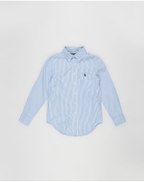 Polo Ralph Lauren - Custom Fit Oxford Shirt - Teens